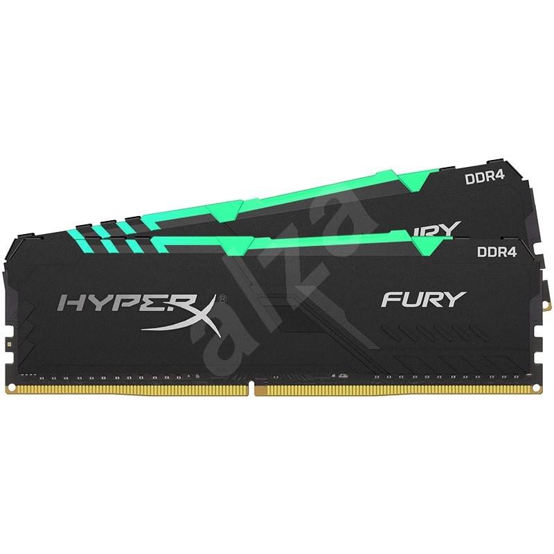 HyperX 16GB KIT DDR4 3466MHz CL16 RGB FURY Series - Rendszermemória