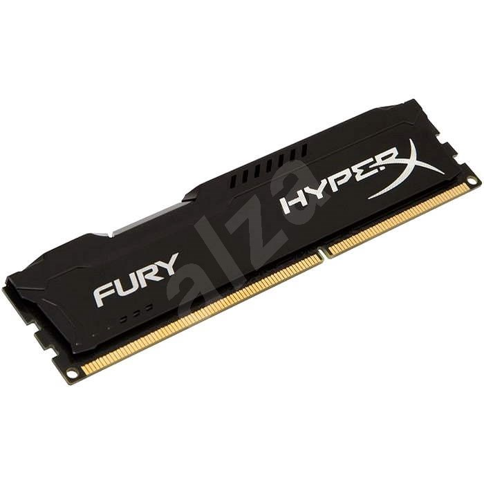 HyperX 4GB DDR3 1866MHz CL10 Fury fekete sorozat - Rendszermemória