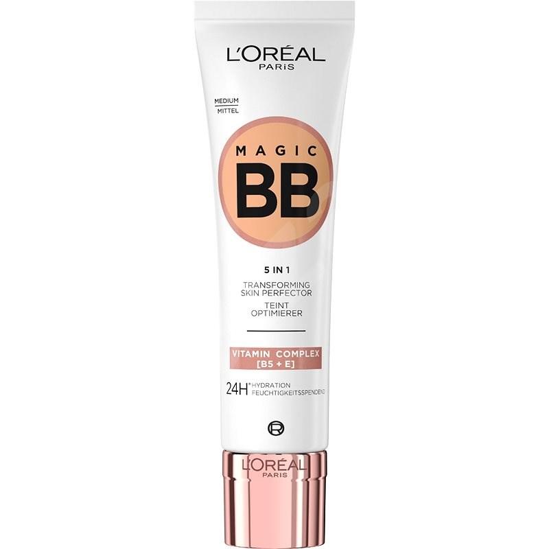 ĽORÉAL PARIS Wake Up & Glow BB C´est Magic BB Cream 5in1 Medium 30 ml - BB krém