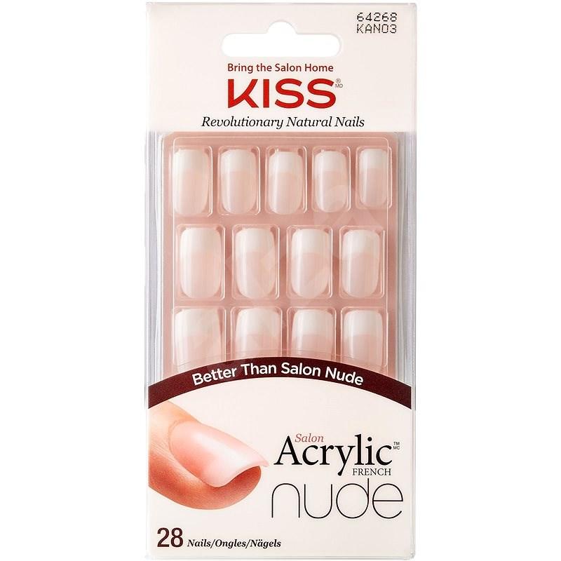 KISS Salon Acrylic Nude Nails - Cashmere - Műköröm
