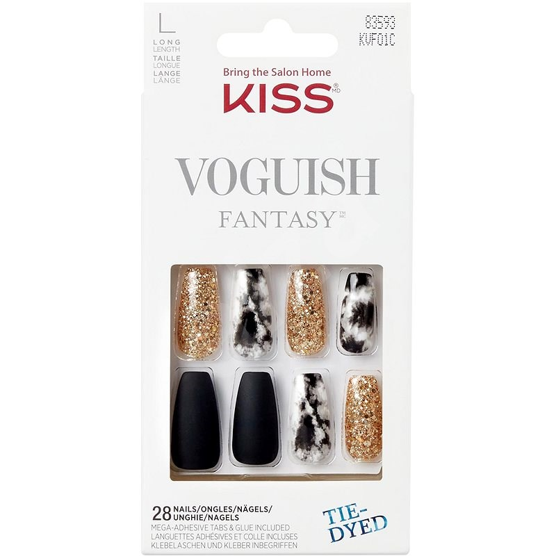 KISS Voguish Fantasy Nails- New York - Műköröm