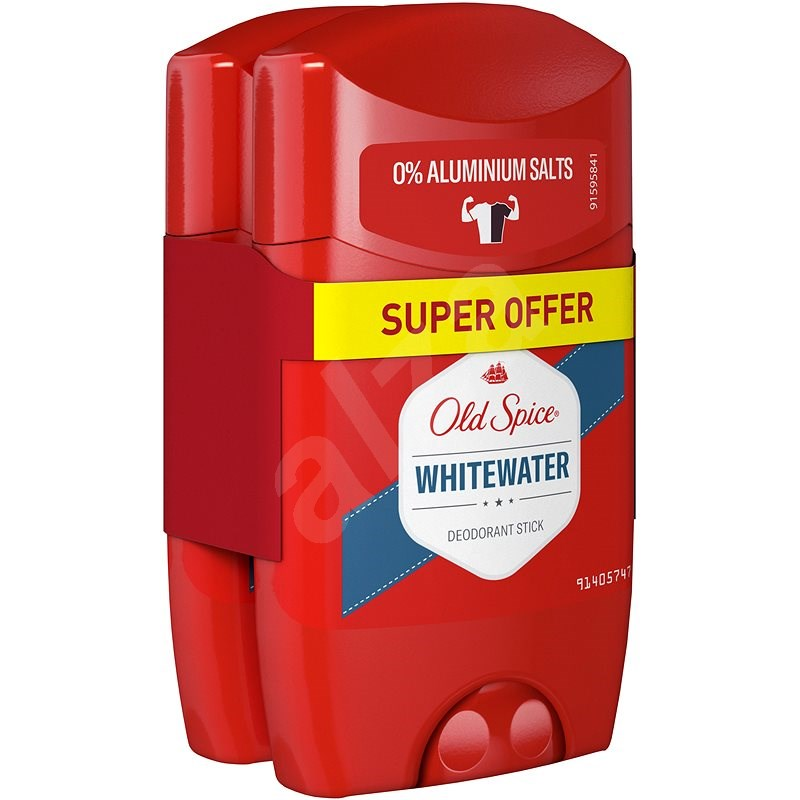 OLD SPICE Whitewater deo pack 2× 50ml - Férfi dezodor