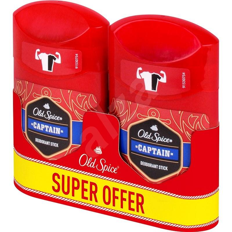 OLD SPICE Captain deo pack 2× 50 ml - Férfi dezodor