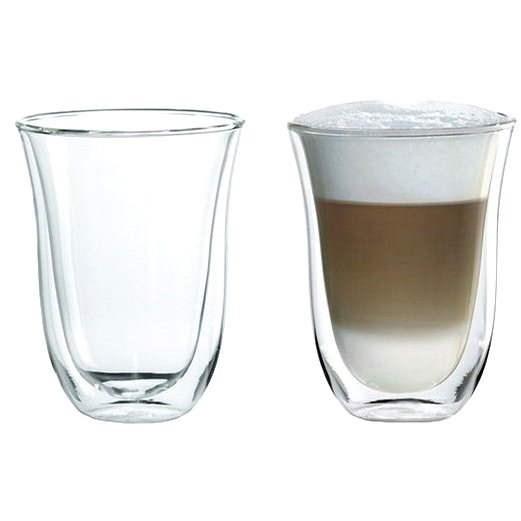 De'Longhi pohárkészlet 2db Latte macchiato - Pohárkészlet
