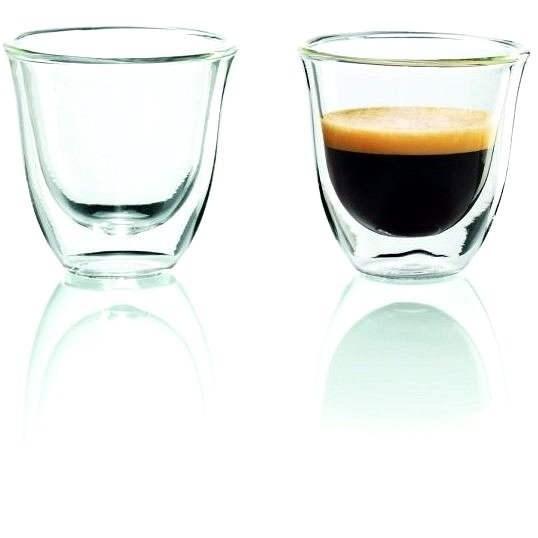 De'Longhi 2 db-os Espresso pohárkészlet - Pohár meleg italokhoz