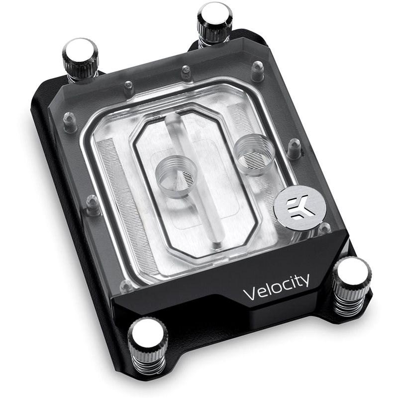 EK Water Blocks EK-Velocity AMD sTR4 D-RGB - nikkel plexi - Processzor vízhűtés