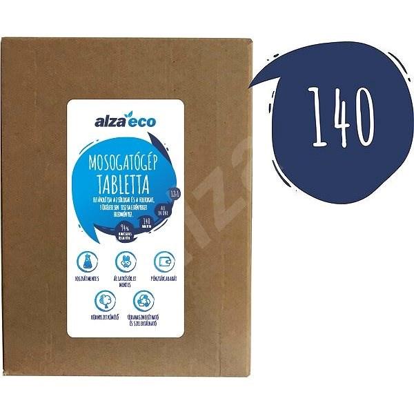 AlzaEco All in 1 12in1 (140 db) - Öko mosogatógép tabletta