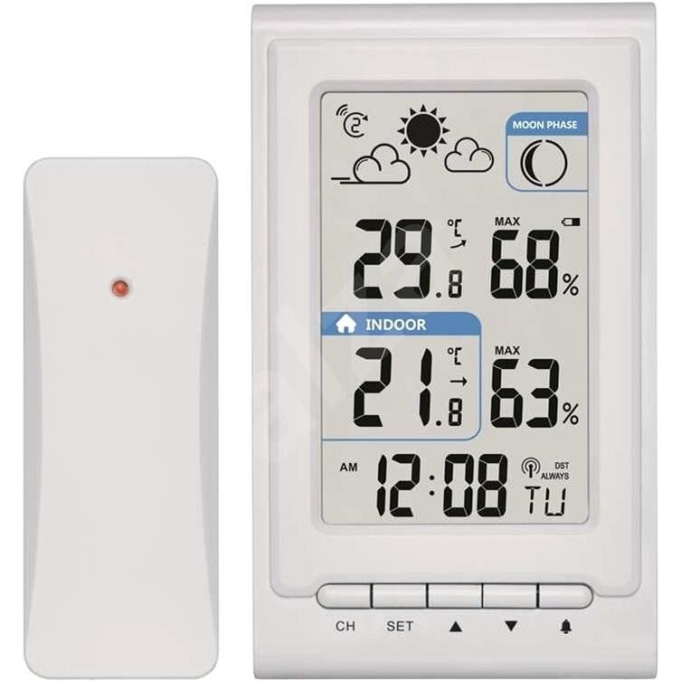 EMOS vezeték mentes házi meteorológiai állomás E0352 - Időjárás állomás