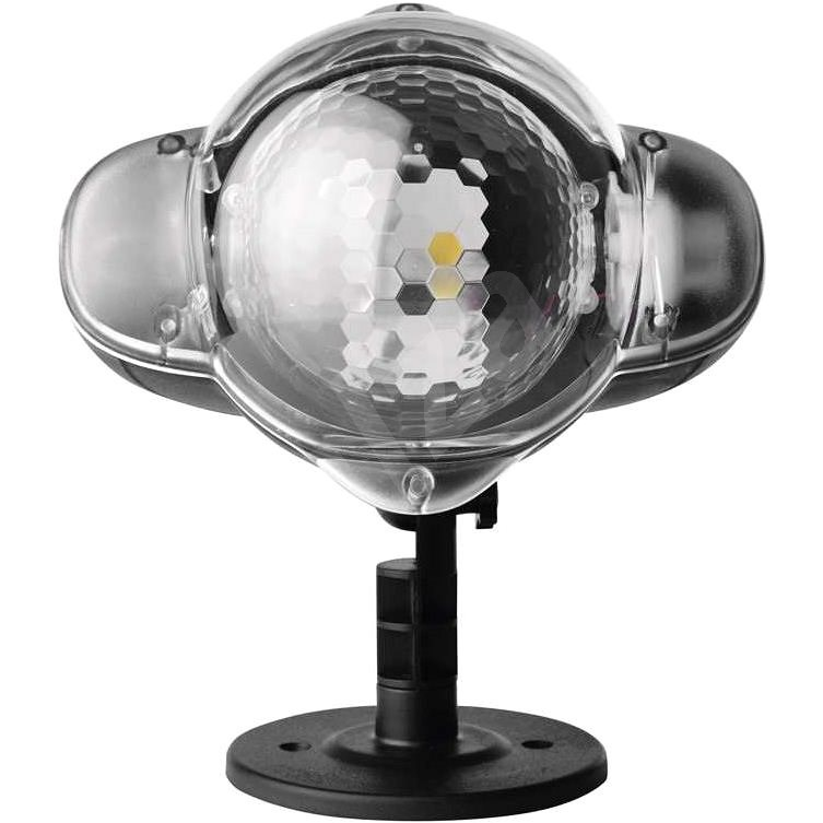 LED Karácsonyi projektor - hulló hópelyhek, kültéri - Karácsonyi vetítő