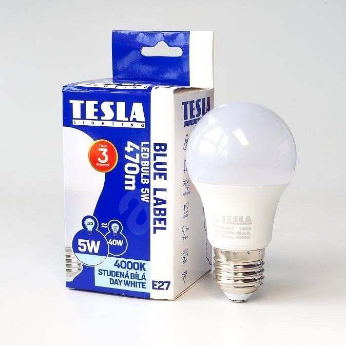 Tesla LED izzó BULB A60 E27 5W - LED izzó