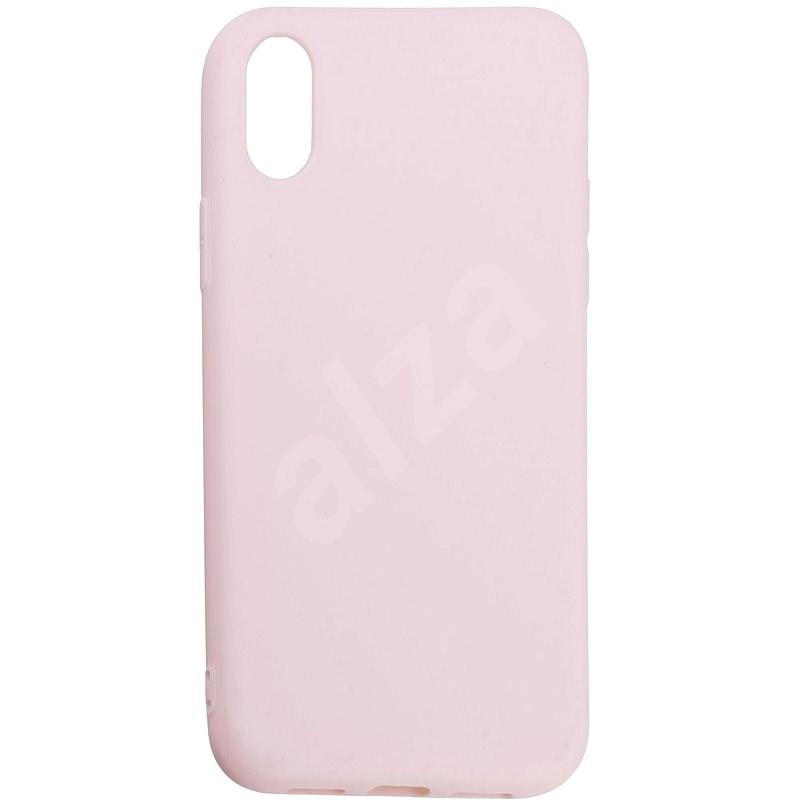 Epico Silk Matt iPhone X készülékhez, rózsaszín - Telefon hátlap