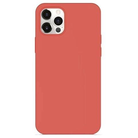 Epico Silicone Magnetic Magsafe iPhone 12 mini kompatibilis - citrus pink - Mobiltelefon hátlap