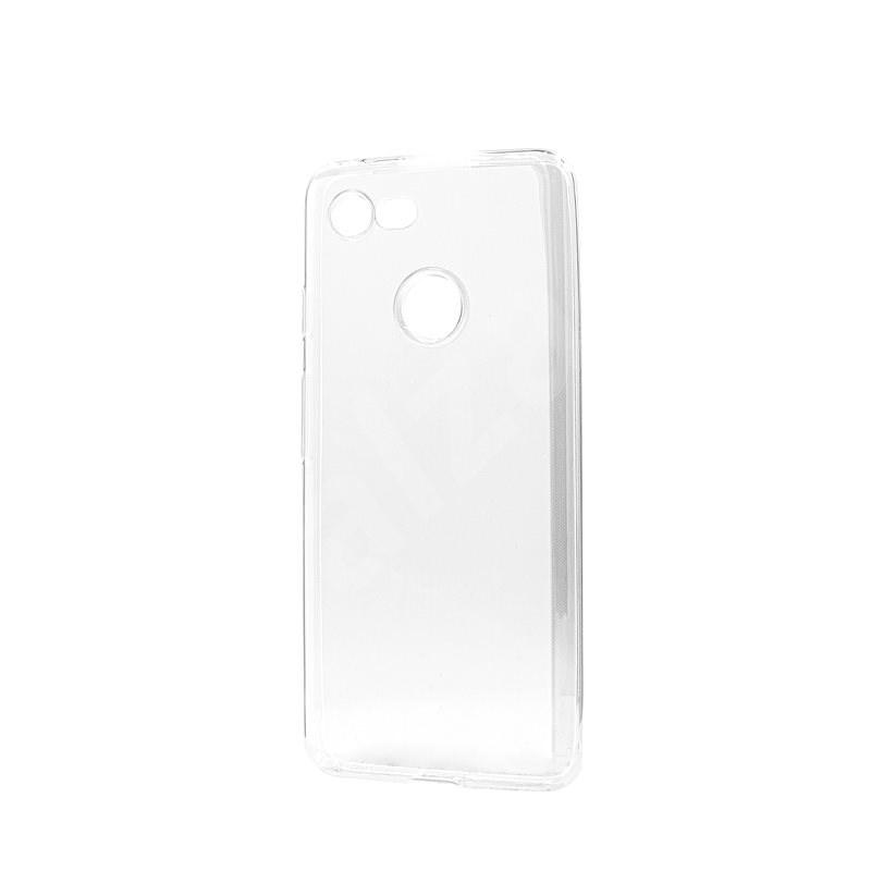 Epico RONNY GLOSS CASE Google Pixel 3, átlátszó fehér - Mobiltelefon hátlap