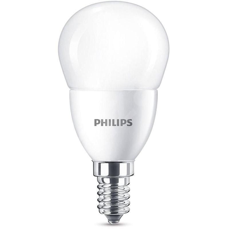 Philips csepp alakú LED izzó 7-60W, E14, Matt, 2700K - LED izzó