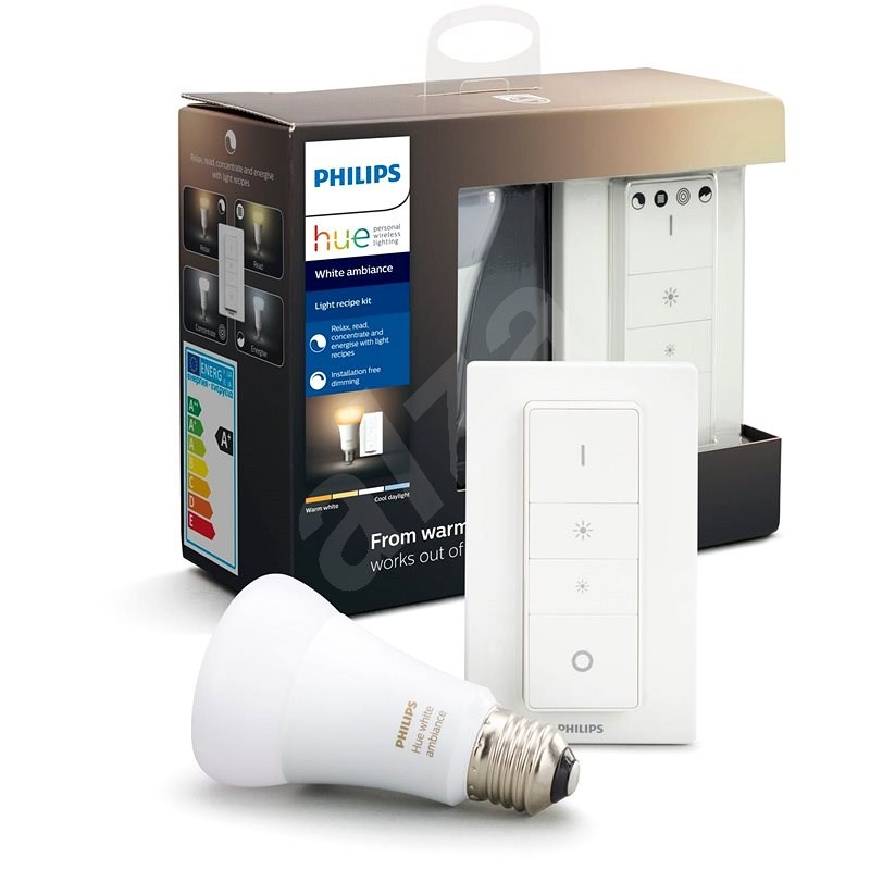 Philips Hue White Ambiance készlet 9,5W - Intelligens világítás