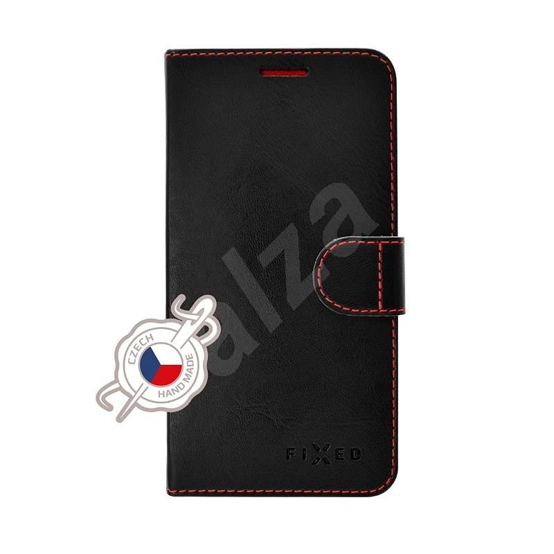FIXED FIT tok Samsung Galaxy A20e készülékhez, fekete - Mobiltelefon tok