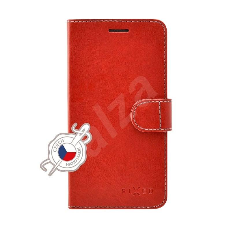 FIXED FIT tok Samsung Galaxy A20e készülékhez, piros - Mobiltelefon tok