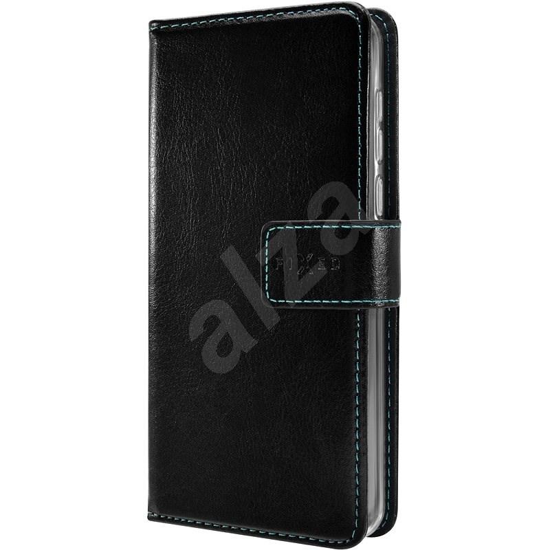 FIXED Opus tok Huawei P Smart Z készülékhez, fekete - Mobiltelefon tok