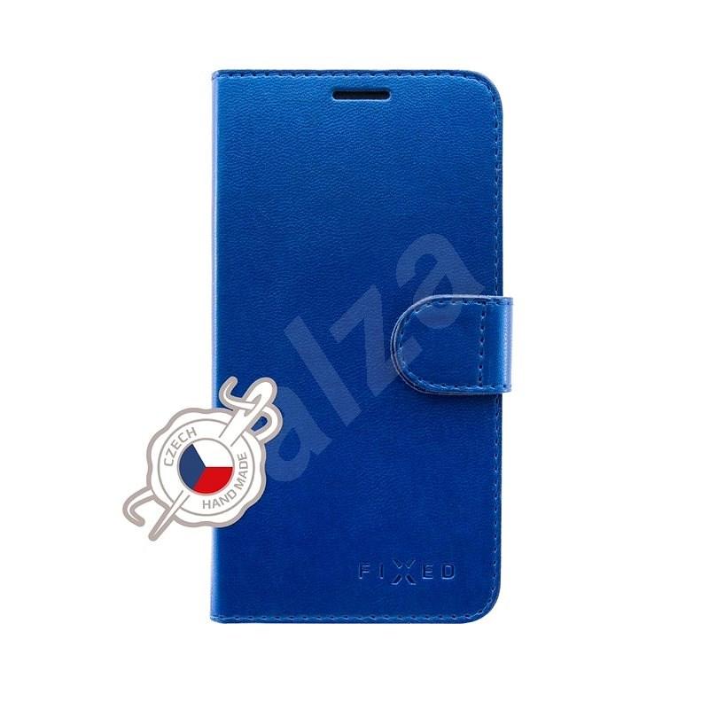 FIXED FIT Shine tok Samsung Galaxy A70/A70s készülékhez, kék - Mobiltelefon tok