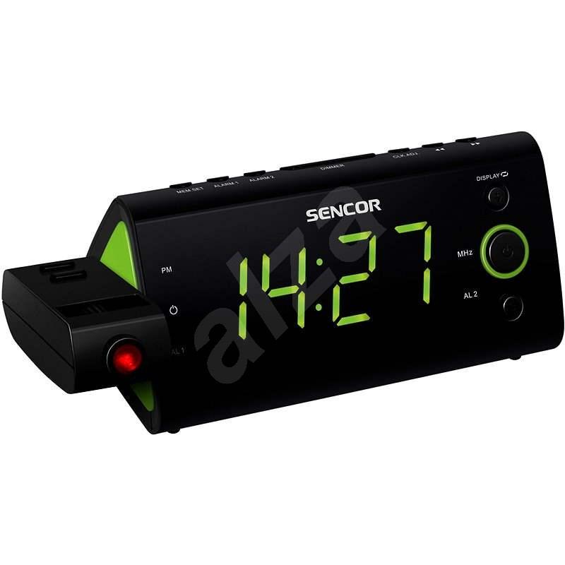 Sencor SRC 330 GN - Rádiós ébresztőóra
