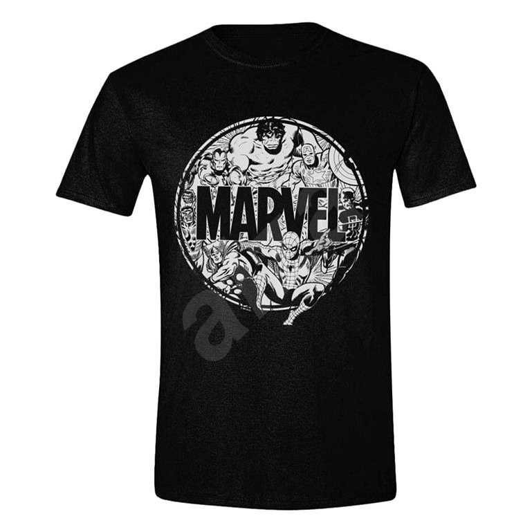 Marvel - Character Circle - T-Shirt, size XL - T-Shirt