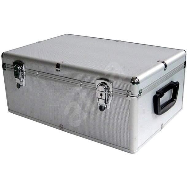 MediaRange DJ Case 500, ezüst - Csomagtartó