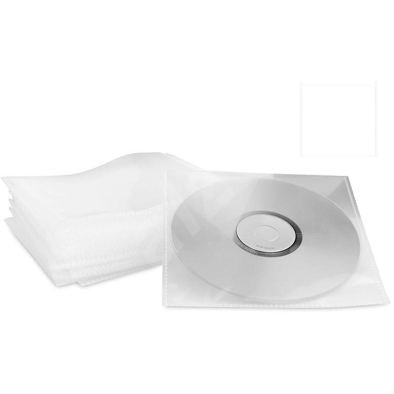 COVER IT CD/DVD Műanyag tok - tiszta (átlátszó), 100 db-os kiszerelés - CD/DVD tok