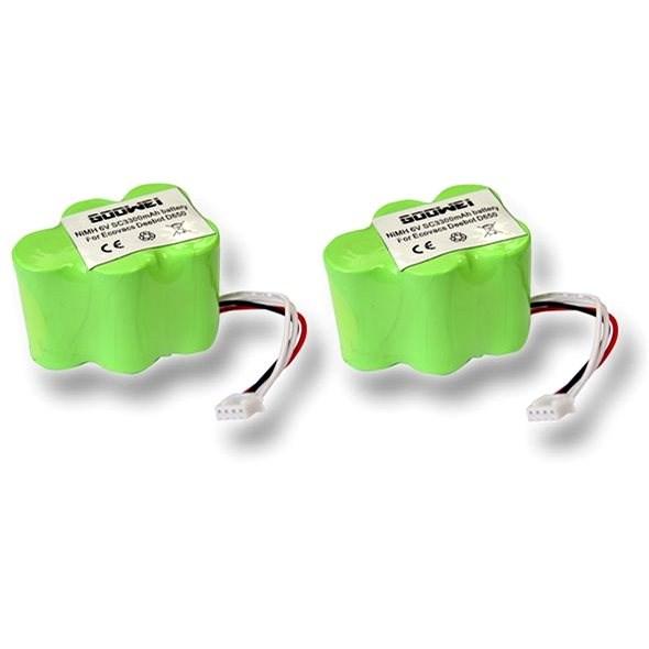 Goowei akkumulátor Ecovacs Deebot D62, D66, D73, D76, D77 (2db készlet) - Akkumulátor