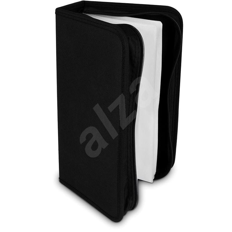 COVER IT 96 darabos - nejlon - fekete - CD/DVD tok