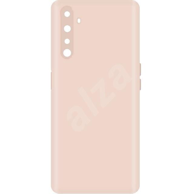 Hishell Premium Liquid Silicone a Realme 6-hoz rózsaszín - Mobiltelefon hátlap