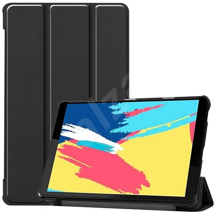 Hishell Protective Flip Cover Lenovo TAB M8 készülékre, fekete - Tablet tok