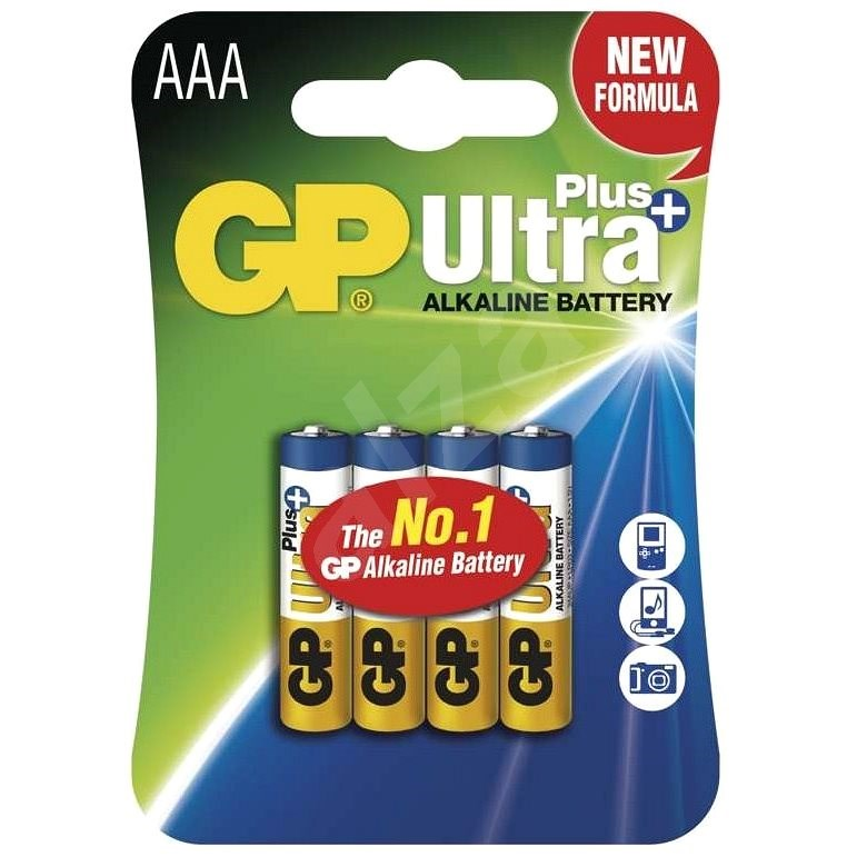 GP Ultra Plus Alkaline LR6 (AAA) 4 db - Eldobható elem