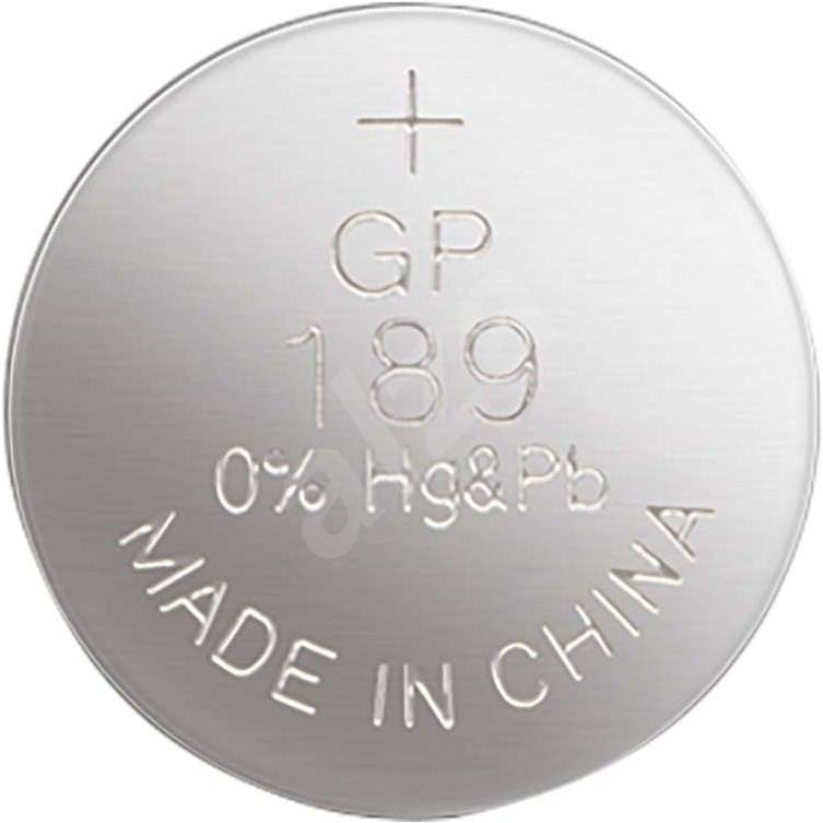 GP LR54 alkáli gombelem (189F) 1,5V - Gombelem