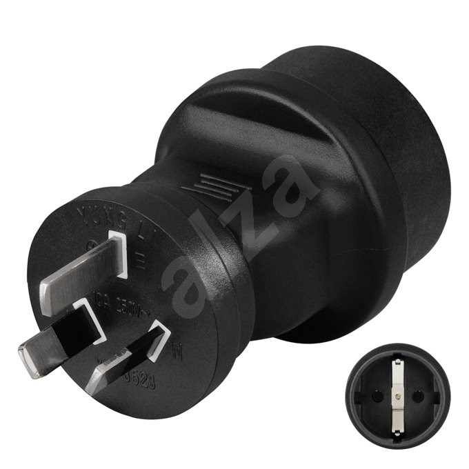 Hama socket adapter Kína / Ausztrália 3 pólusú - Úti adapter