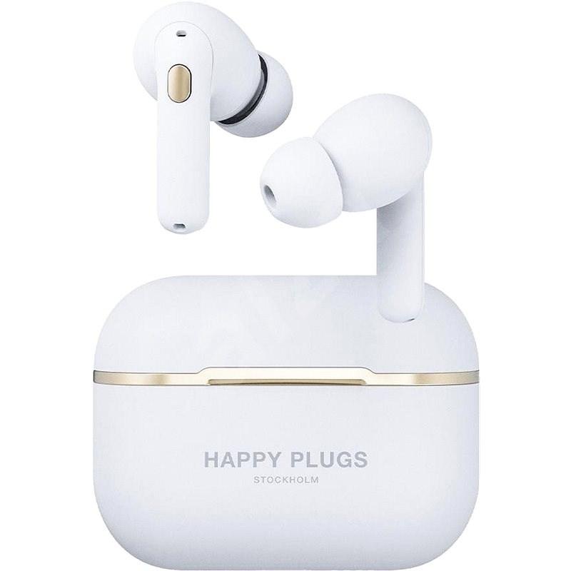 Happy Plugs Air 1 Zen White - Vezeték nélküli fül-/fejhallgató