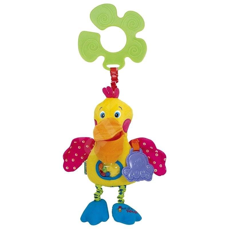 K Kids éhes pelikán - Babakocsira rögzíthető játék