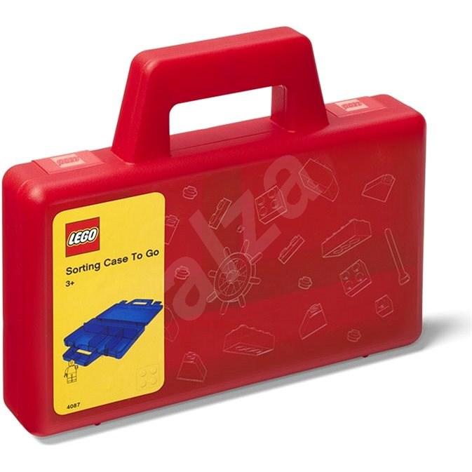 LEGO To-Go tárolódoboz - piros - Tárolódoboz
