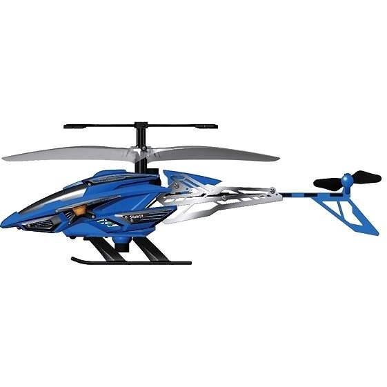 Helicopter Hover Trooper - gunship blue - RC model