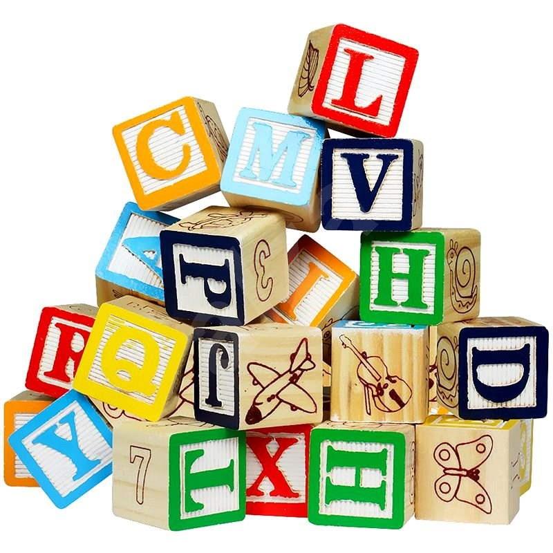 Kockajáték - Betűk & számok - Játék szett