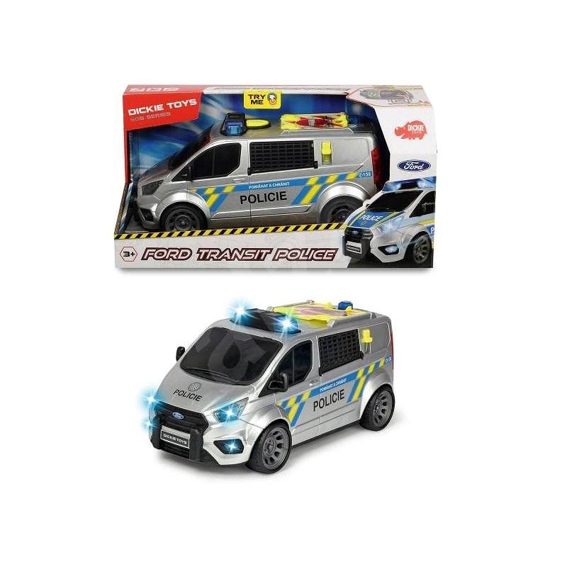 Dickie Rendőrségi Ford Transit - Játékautó