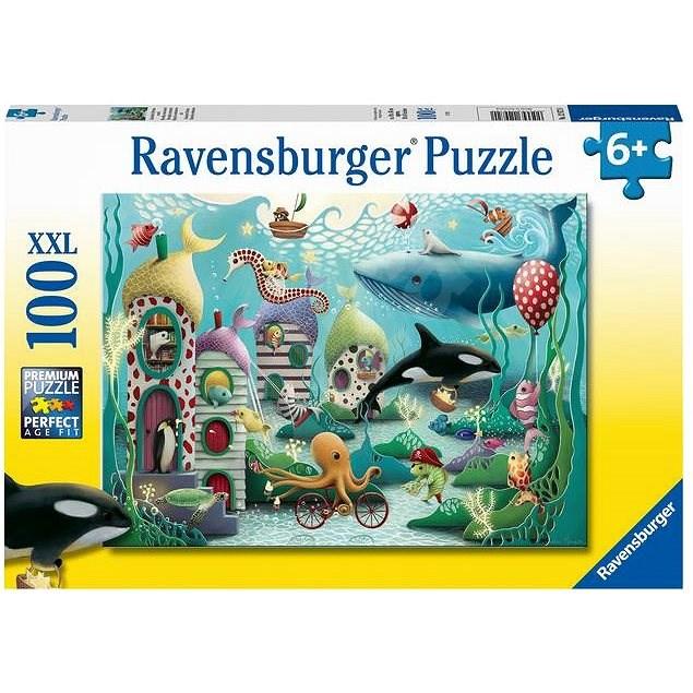 Ravensburger 129720 Víz alatti csodák 100 db - Puzzle