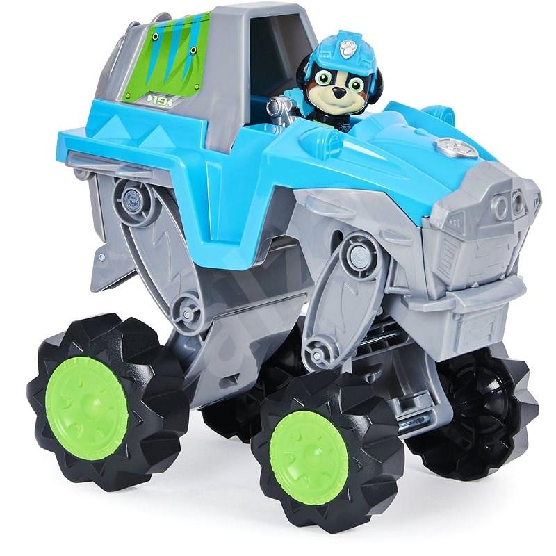 Mancs őrjárat átalakítható dinó autóval és figurával - Játékautó