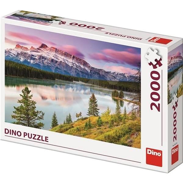 Dino Sziklás-hegység 2000 puzzle - Puzzle