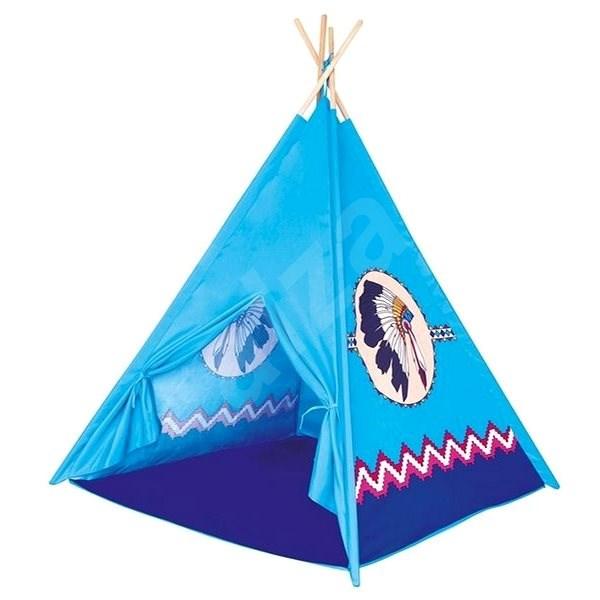 TeePee - kék - Gyereksátor