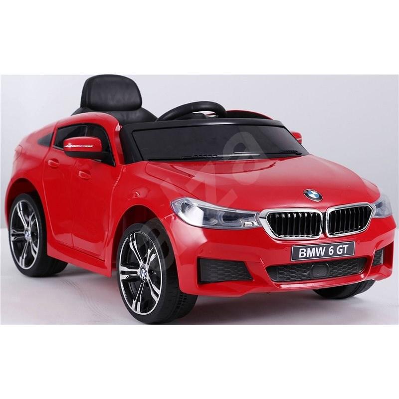 BMW 6GT, piros - Elektromos autó gyerekeknek
