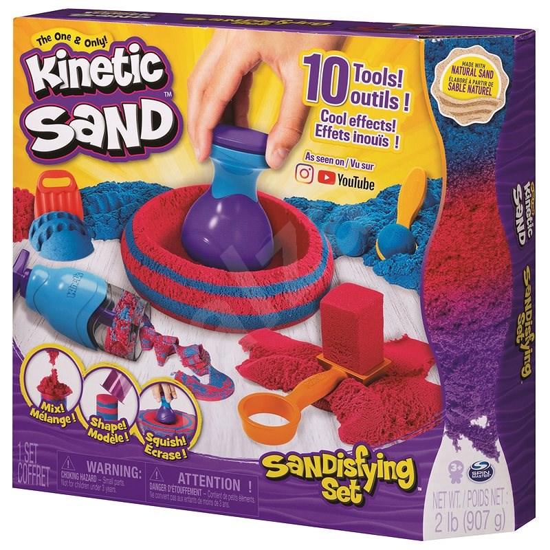Kinetic Sand fantasztikus játékkészlet - Kinetikus homok