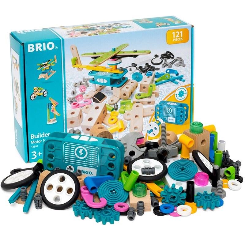 Brio 34591 Builder készlet motorral - Építőjáték