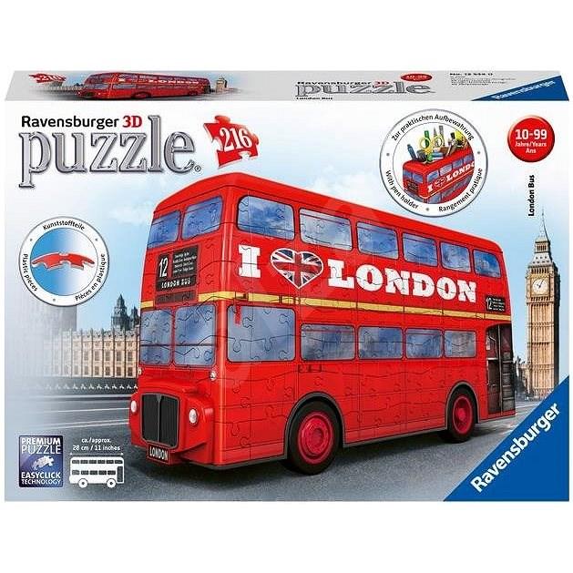 Ravensburger 3D 125340 Londoni autóbusz - 3D puzzle