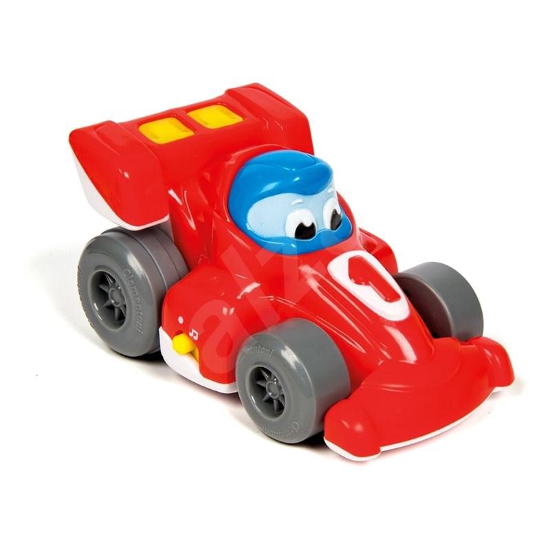 Clementoni hátrahúzható versenyautó - Játékautó