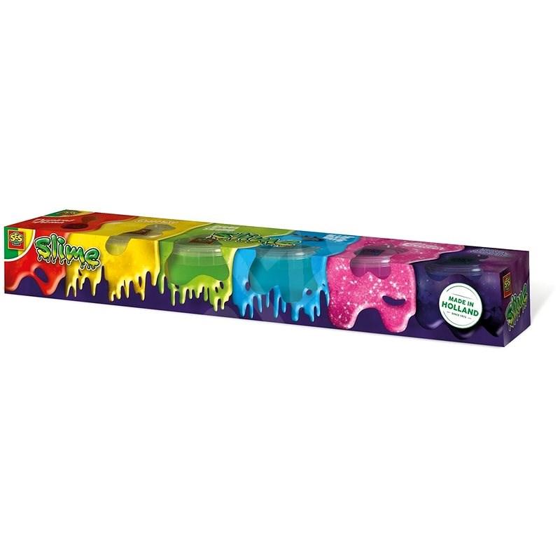 SES Slime mega kiszerelés - 6 db - Kreatív szett